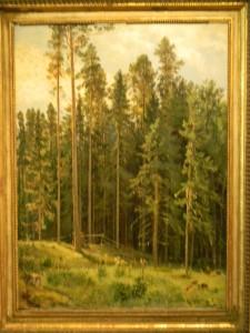 Выставка в Ярославле к 180-летию со дня рождения Шишкина