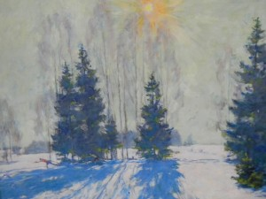 Выставка двух поколений: Новотельнов, Марина Серикова, Александр Сериков