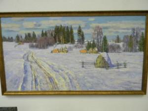 Русь уходящая - мемориальная выставка работ Дарьина Г. А.