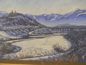 Выставка в Ярославле Пейзажи провинции Кунео в пастелях художников России и Италии