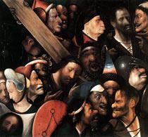 картина Босха Несение креста