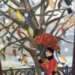 Юбилейная выставка художницы из Углича в технике текстильного коллажа