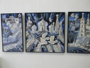 Валентина Максимова Юбилейная выставка  в Ярославле