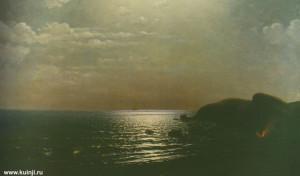Куинджи Лов рыбы на Черном море