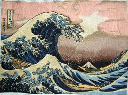 Кацусика Хокусай В морских волнах у Канагава