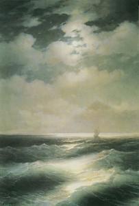 Айвазовский Морской вид при луне
