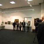 Мемориальная выставка  художника из Углича
