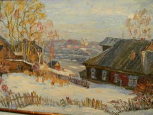 Выставки художников в январе 2014 в Ярославле Владимир Литвинов