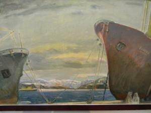 Выставка художника Вячеслава Зарослова в январе 2014 в Ярославле
