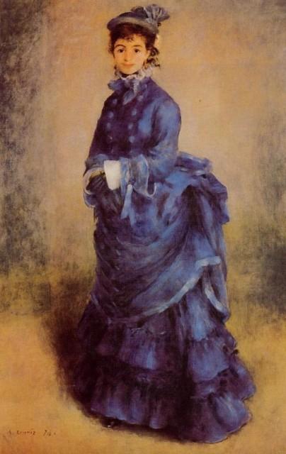 Женщины на картинах Ренуара