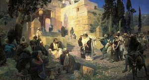 Поленов - Христос и грешница