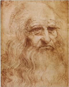 Леонардо да Винчи Автопортрет