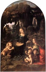 Леонардо да Винчи Мадонна в гроте