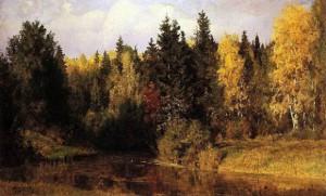 Поленов - Осень в Абрамцево
