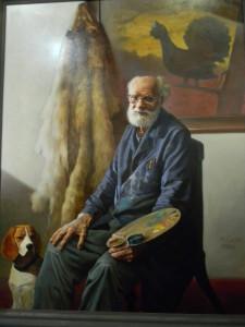 Картины Олега Отрошко и его учеников на выставке в Ярославле