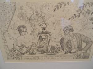 Выставка картин Бориса Михайловича Кустодиева