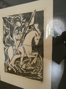Гончарова Мистические образы войны