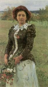 Картины Репина - Портреты родственников