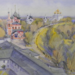 Новая выставка — «Храмы Ярославии и лики Богоматери»