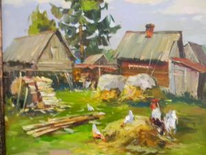 Выставка картин Федорова Ревеля, Федорова Александра, Андреева Николая