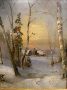 Саврасов - Зима