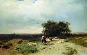 Fedor_Vasilyev_Return_of_the_herd_1868
