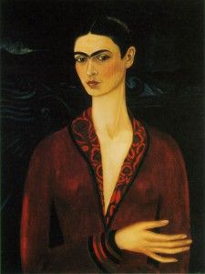 Фрида Кало Автопортрет в бархатном платье