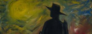 Lawrence Ferlinghetti -painting