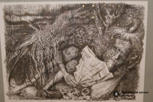 Валерий Цаплин - заслуженный художник РФ, День памяти, картины художника