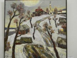 Весенняя выставка картин художников Ярославской области